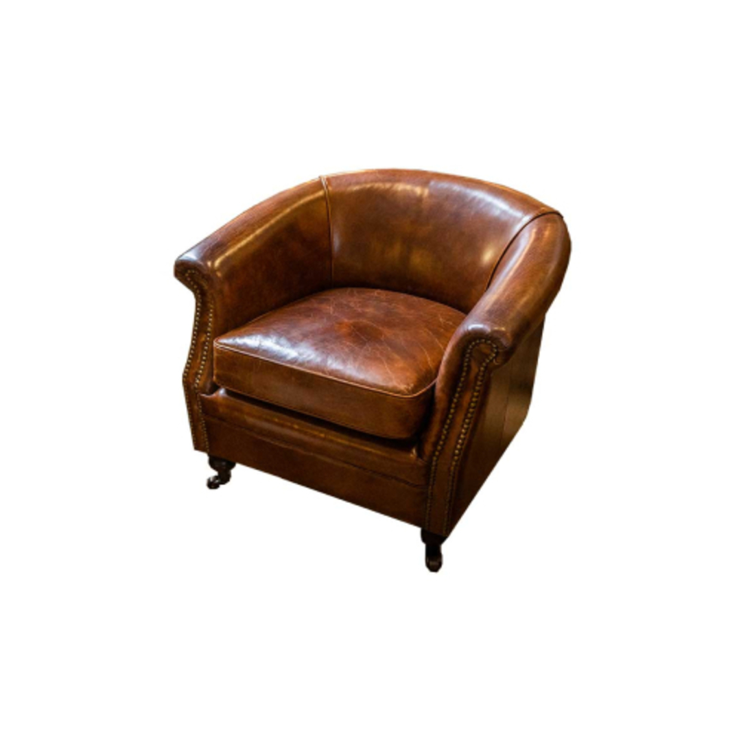 Westminster Aged Italian Tub Chair image 0