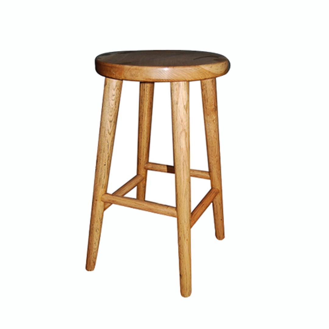 Oak Breakfast Stool image 0