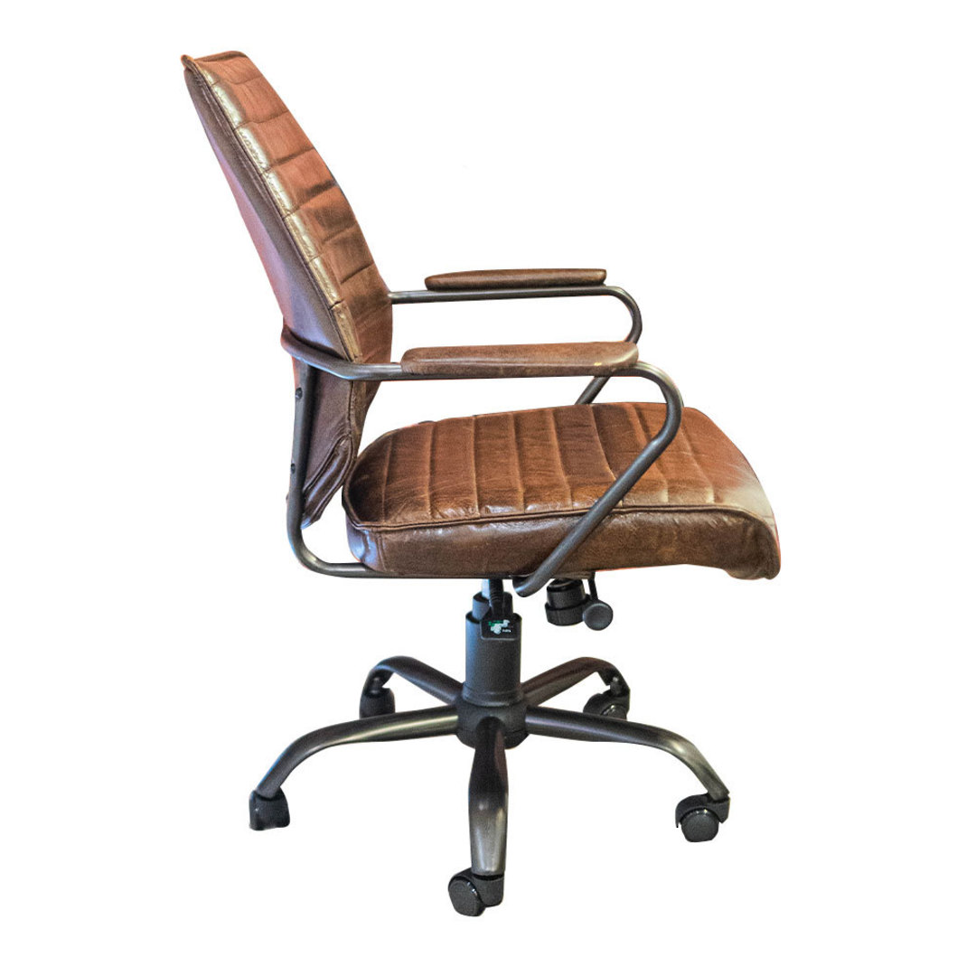 Oxford Office Chair Leather image 2