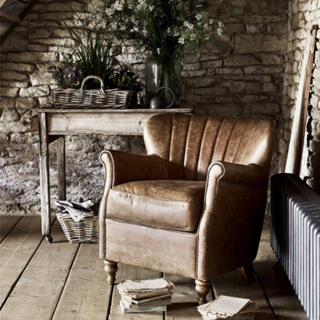 Percy Accent Chair Satchel Latte image 8