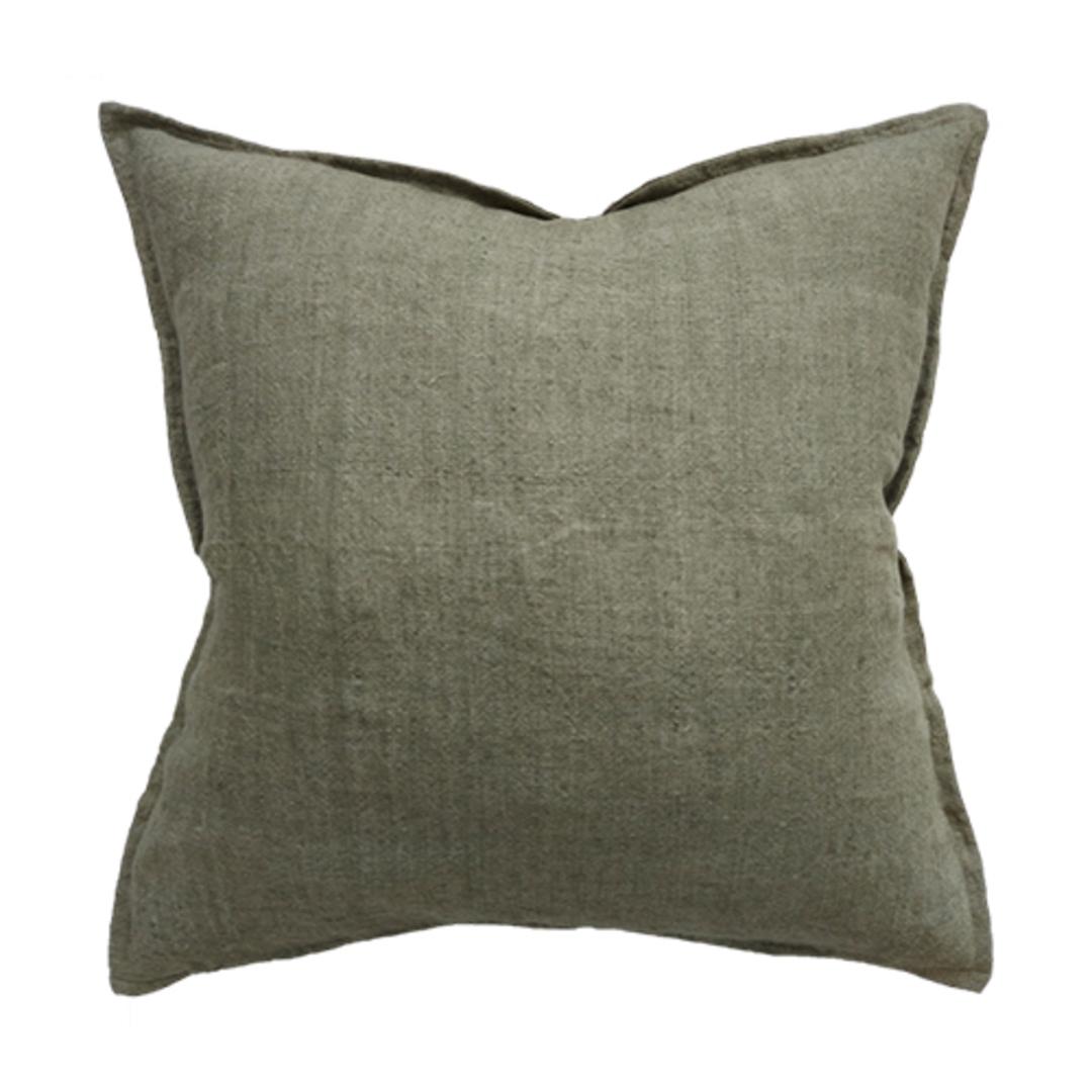 Cassia  Moss Cushion image 0