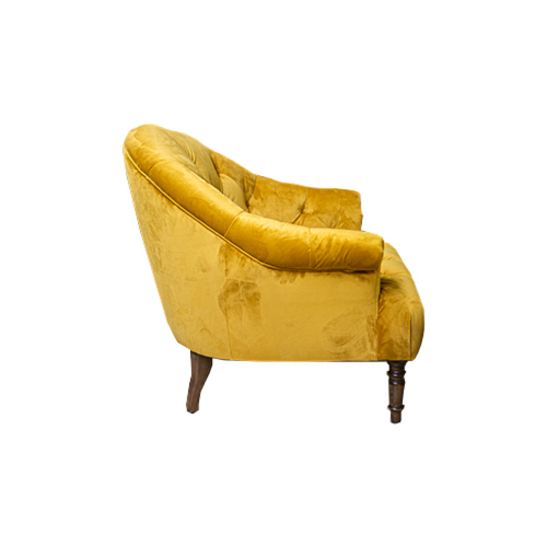 Imogen Chair Plush Turmeric image 3