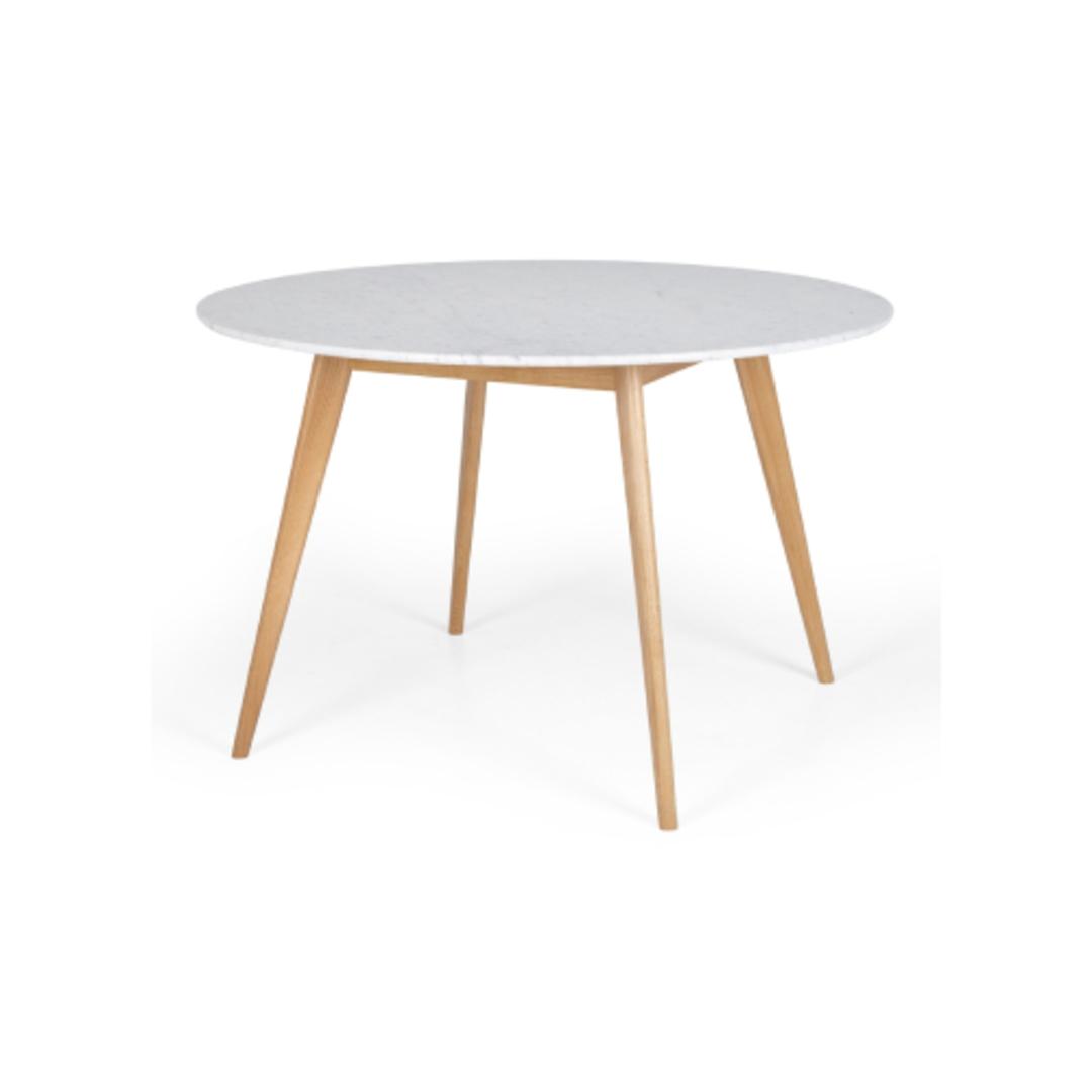 Iris Round Marble Dining Table image 0