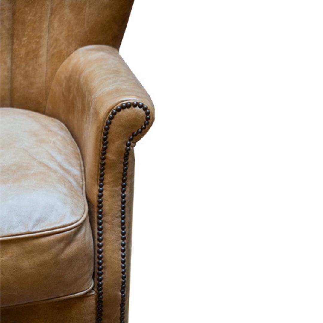 Percy Accent Chair Satchel Latte image 5