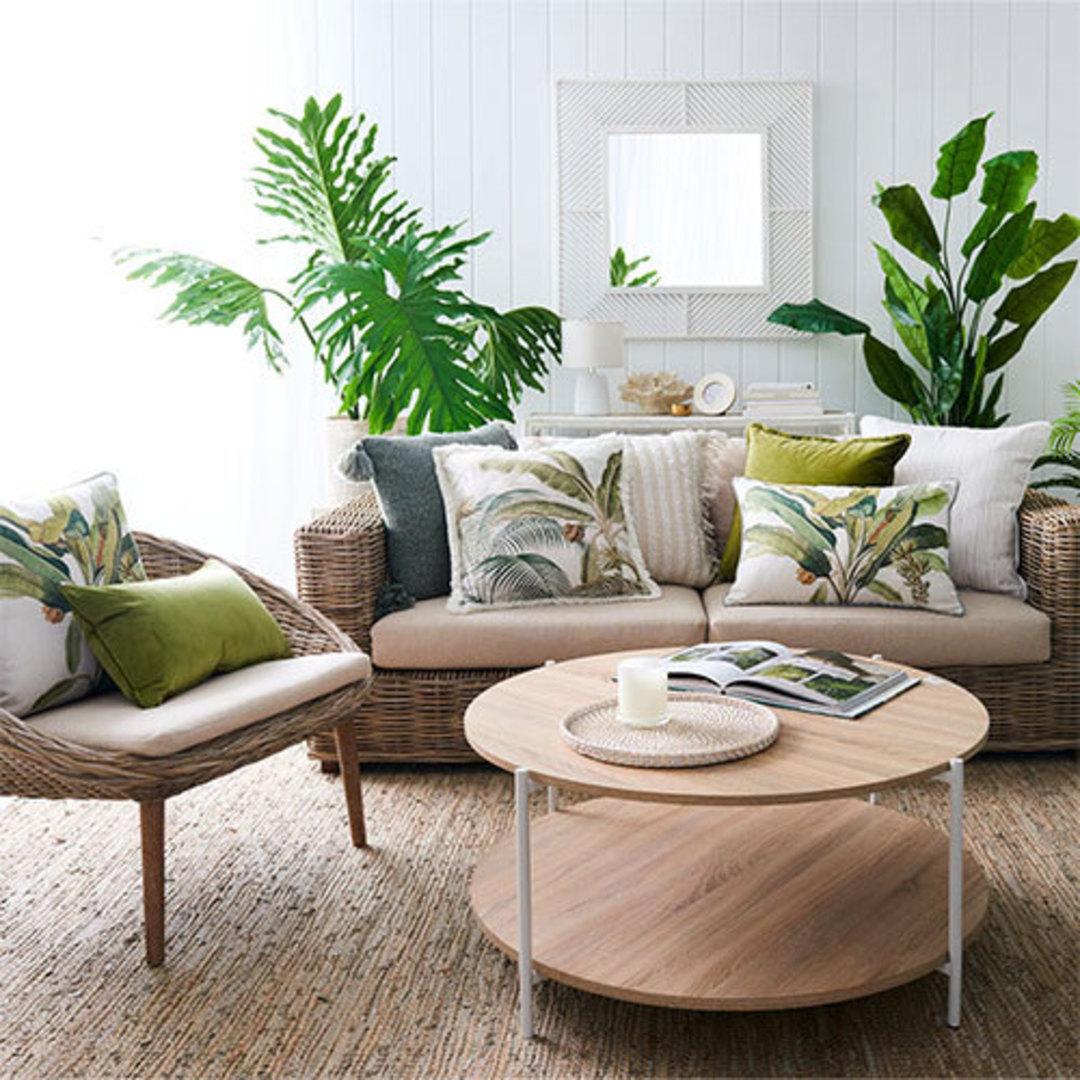 Tanna Green Cushion image 1