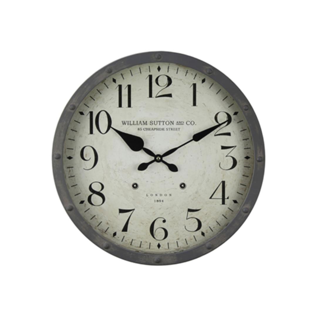 William Sutton Clock 1894 image 0