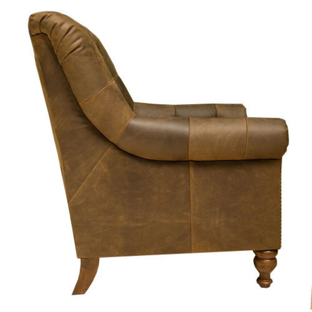 Sofia Leather Chair Jin Black image 2