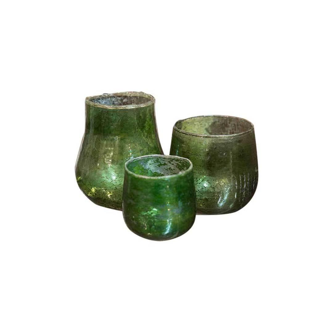 Green Jars - Set of 3 image 0