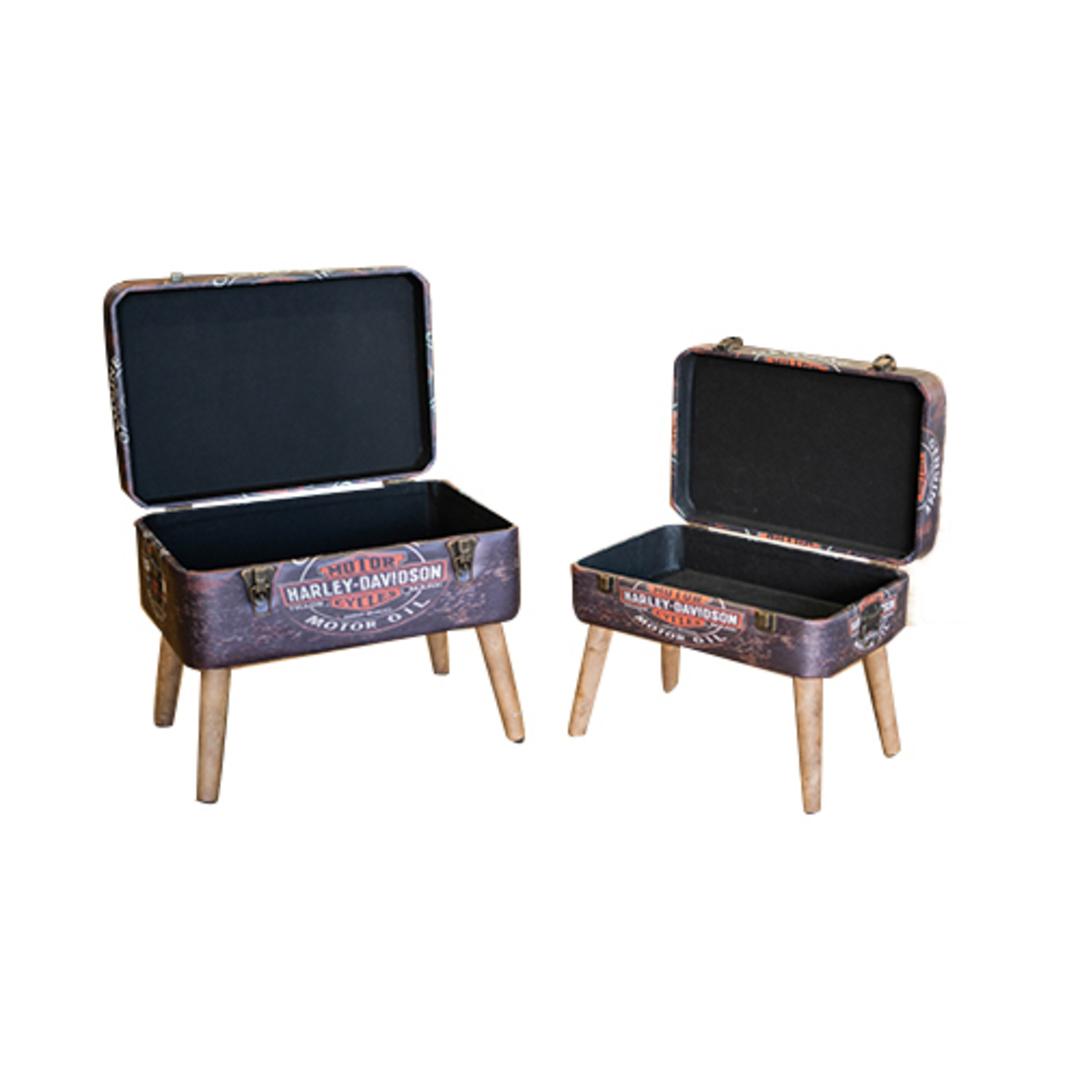 Harley Davidson Storage Seats - Set of 2 image 4