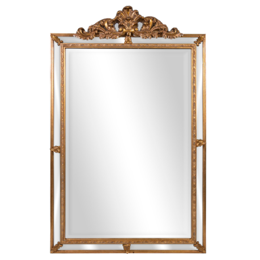 Ornate Wall Mirror With Chest image 0