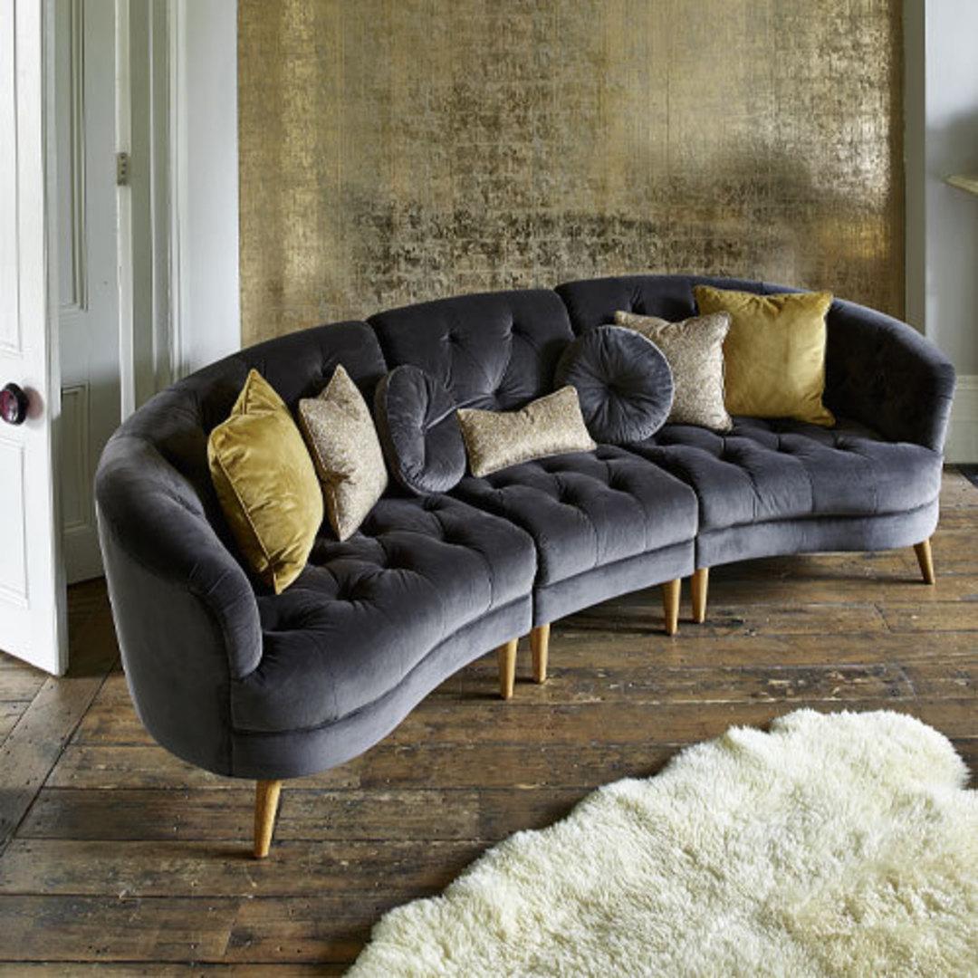 Jean Maxi XL Sofa - Plush Asphalt image 1