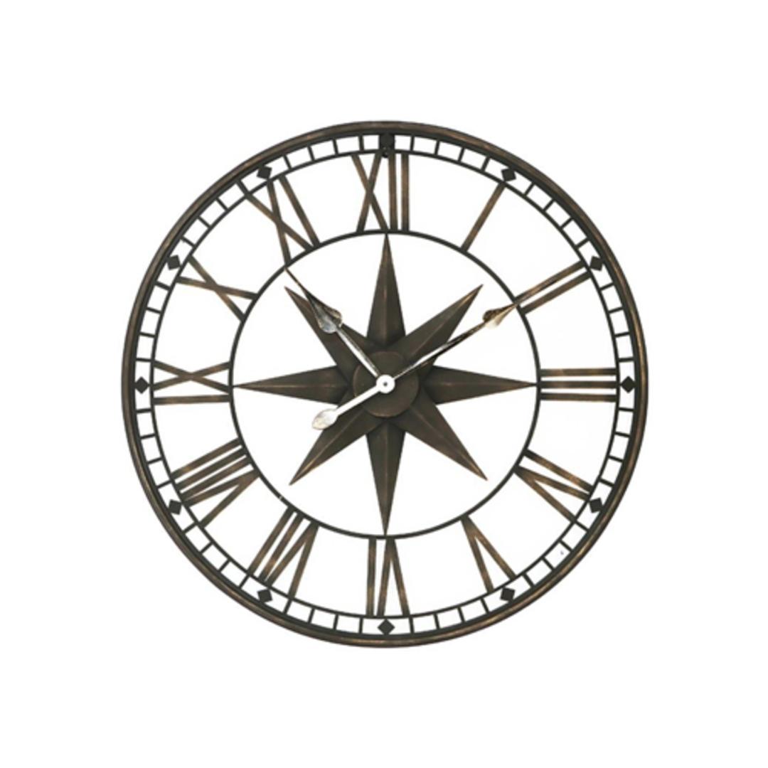 Star Iron Wall Clock image 0