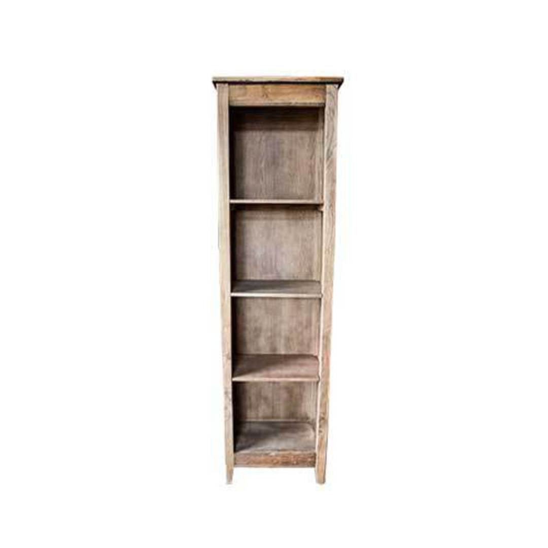 Recycled Elm French Bookcase Small image 0