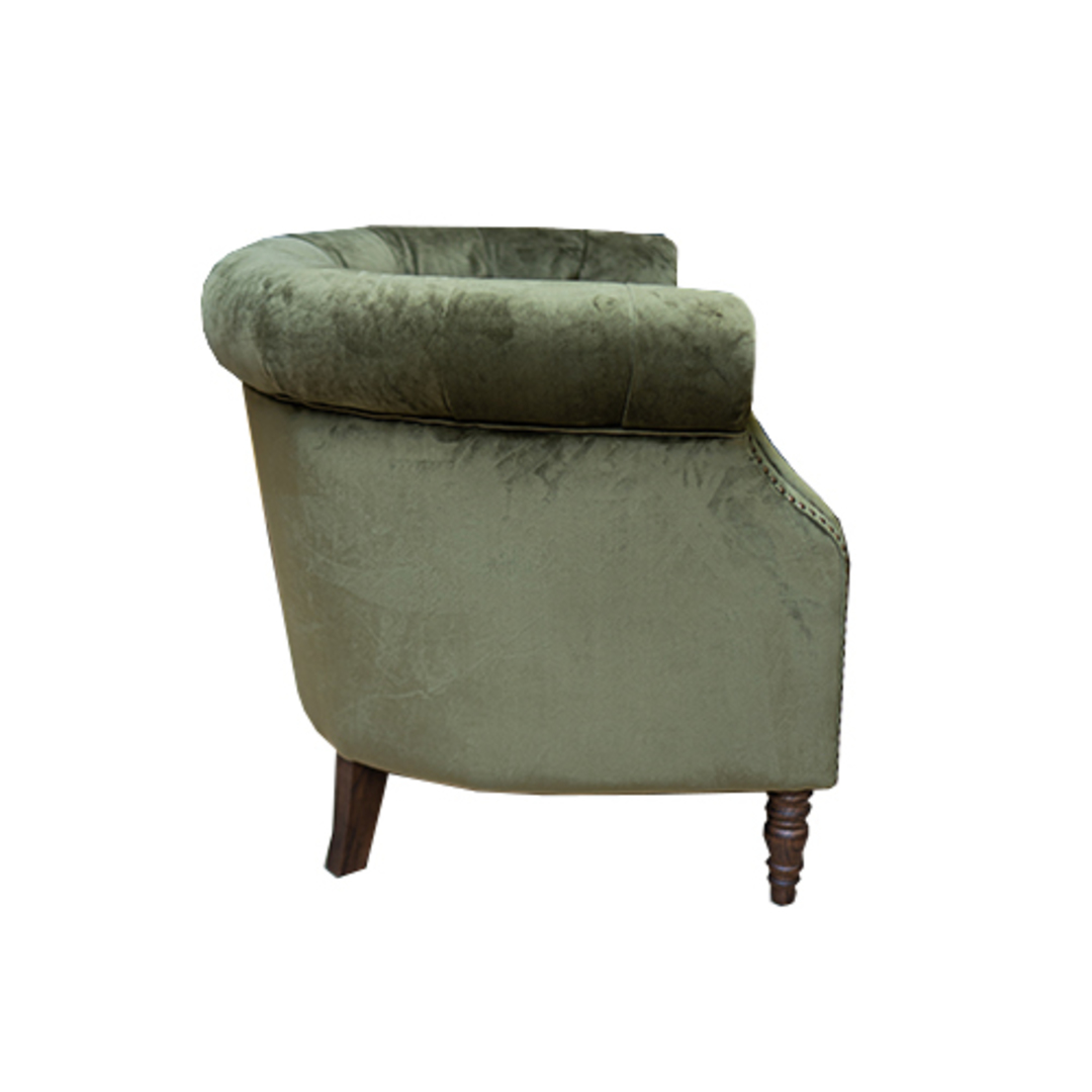 Jude Chair Plush Velvet Green image 1