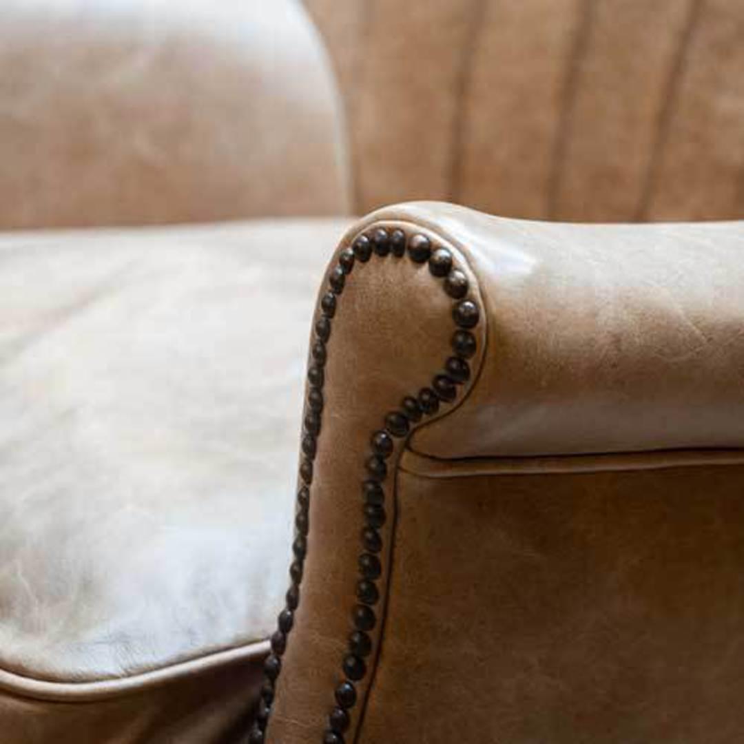 Percy Accent Chair Satchel Latte image 6