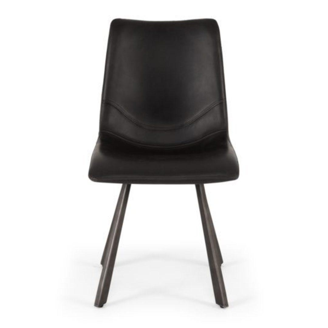 Rustic Chair Vintage Black image 2