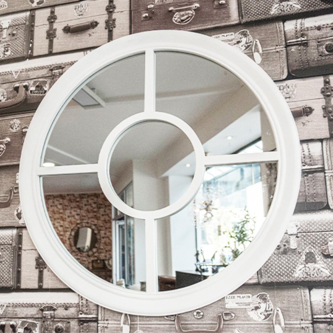Four Quarter Round Mirror image 1