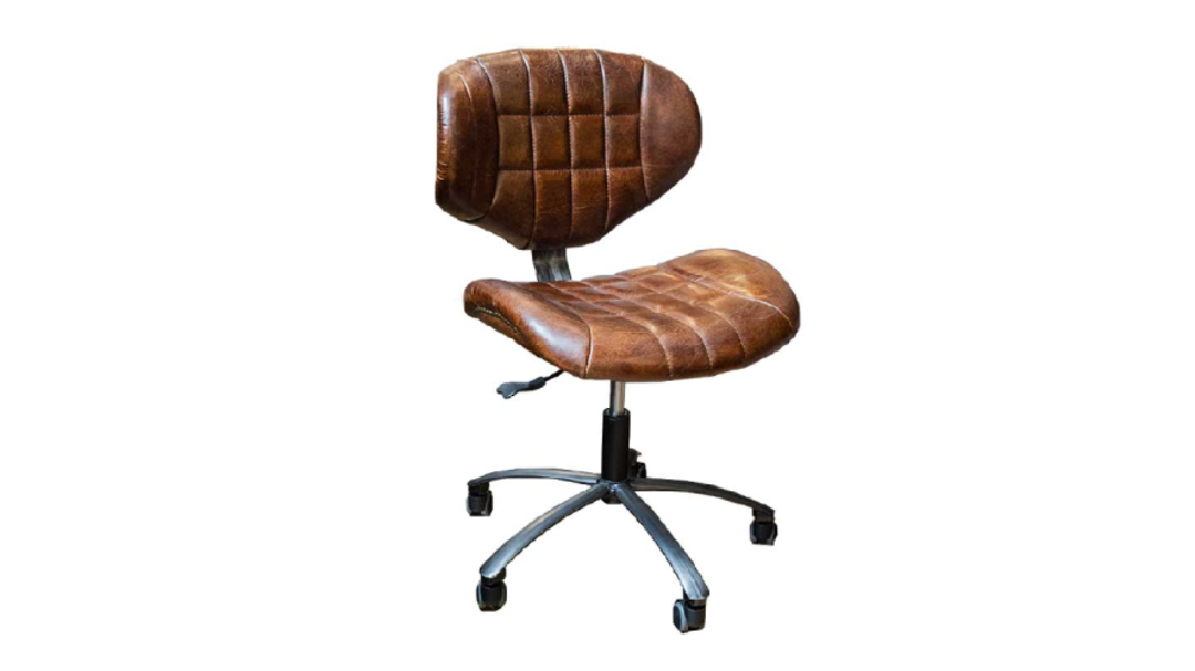 Heritage Study Chair Leather image 0