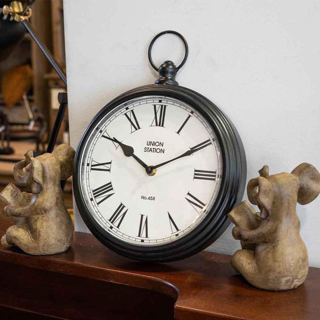Ringo Iron Wall Clock image 1