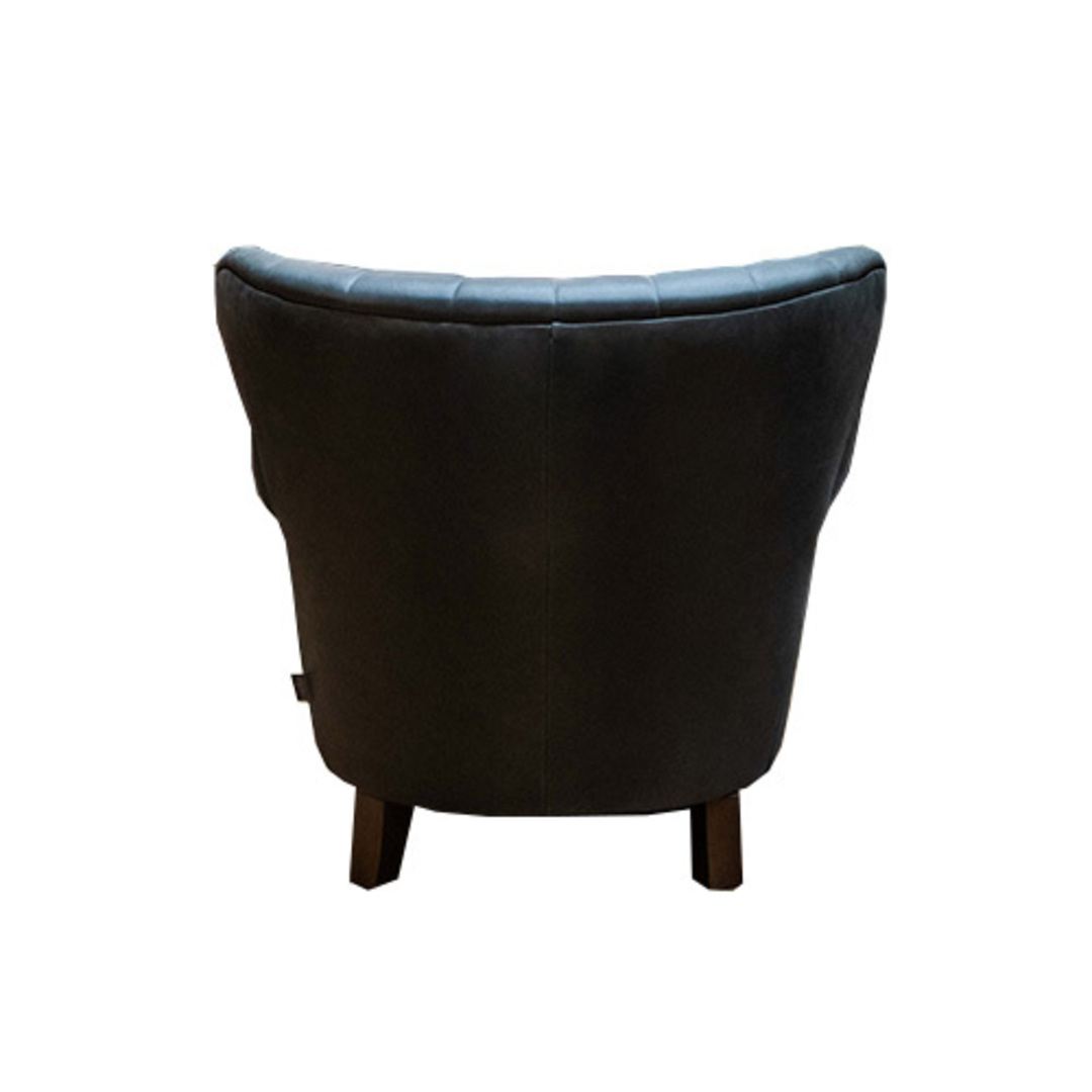 Percy Chair Plush Velvet Charcoal image 3