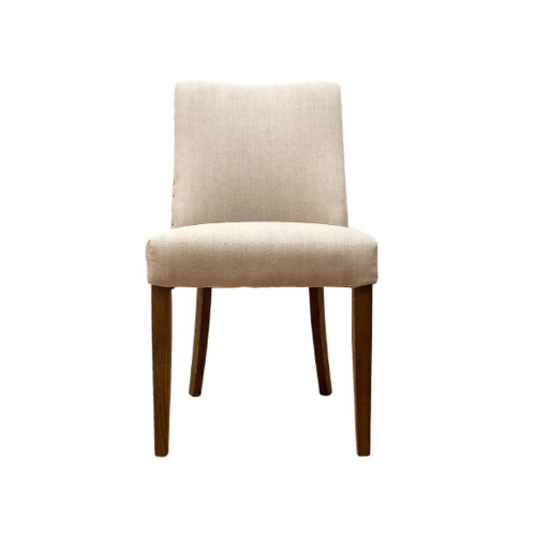 Plain Linen Dining Chair image 0