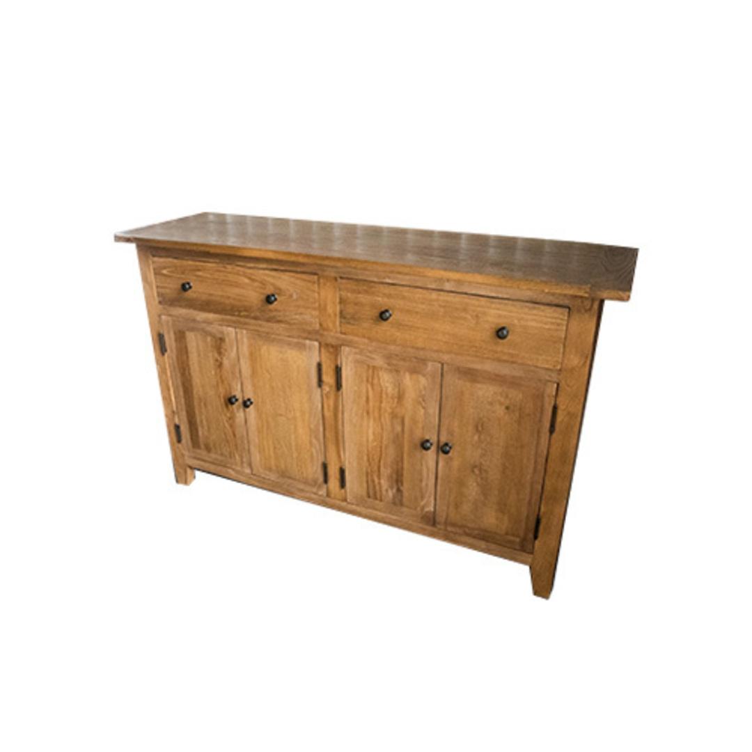 Sideboard Recycled Elm 2 Drawer 4 Door 1.4M image 2