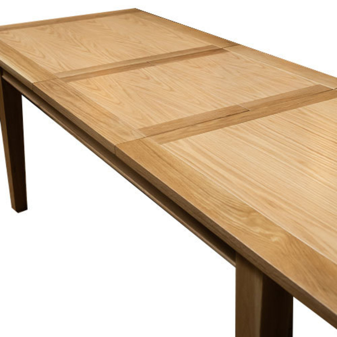 NZ Made Oak Extension Table image 1