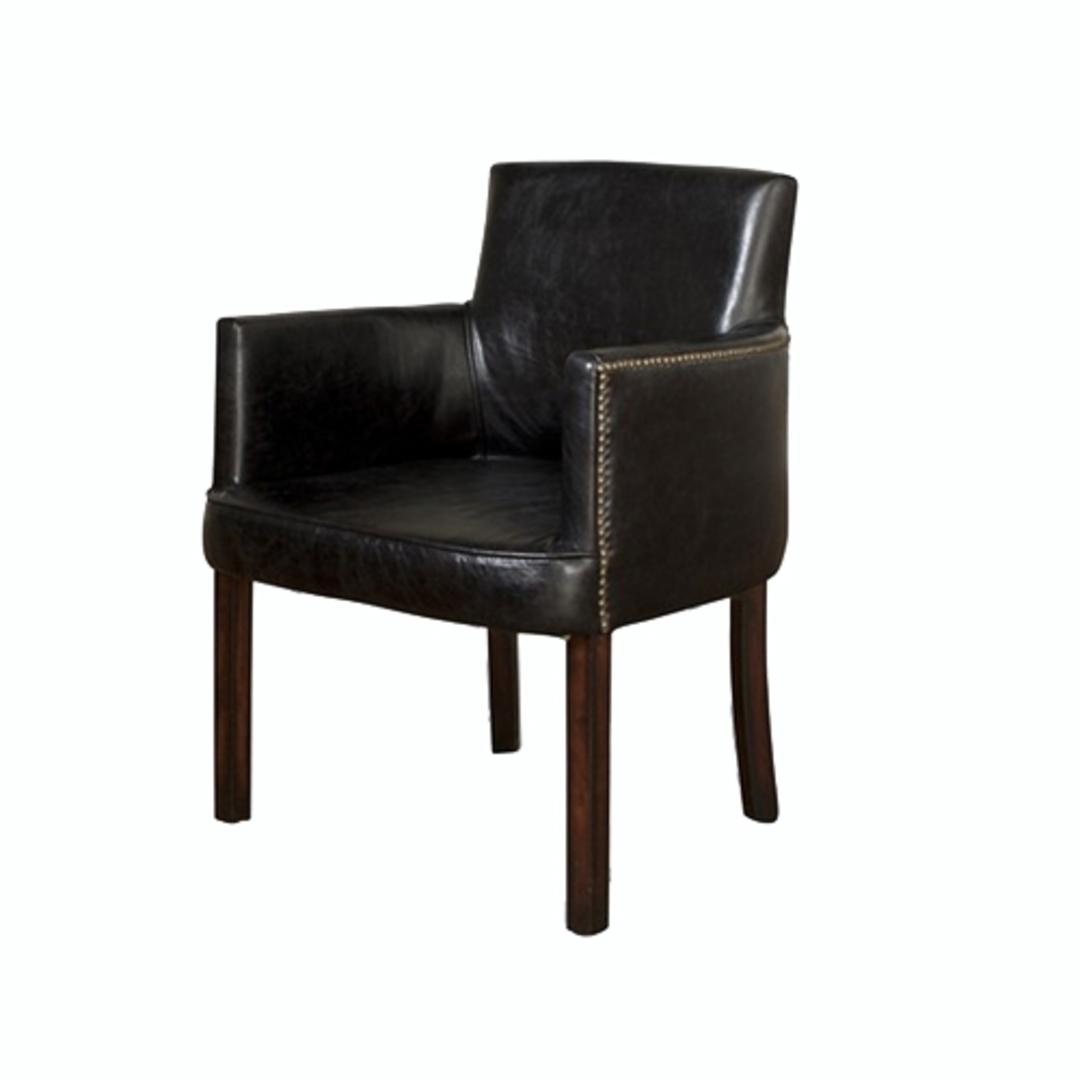 Malta Chair Belon Black image 0