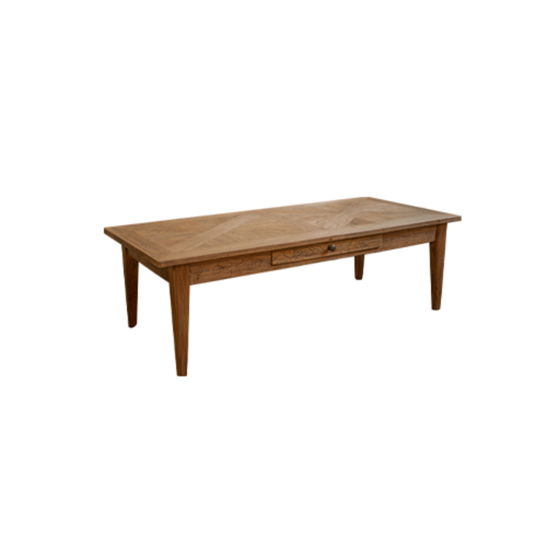 Elm Parqueterie 1 Draw Coffee Table image 0
