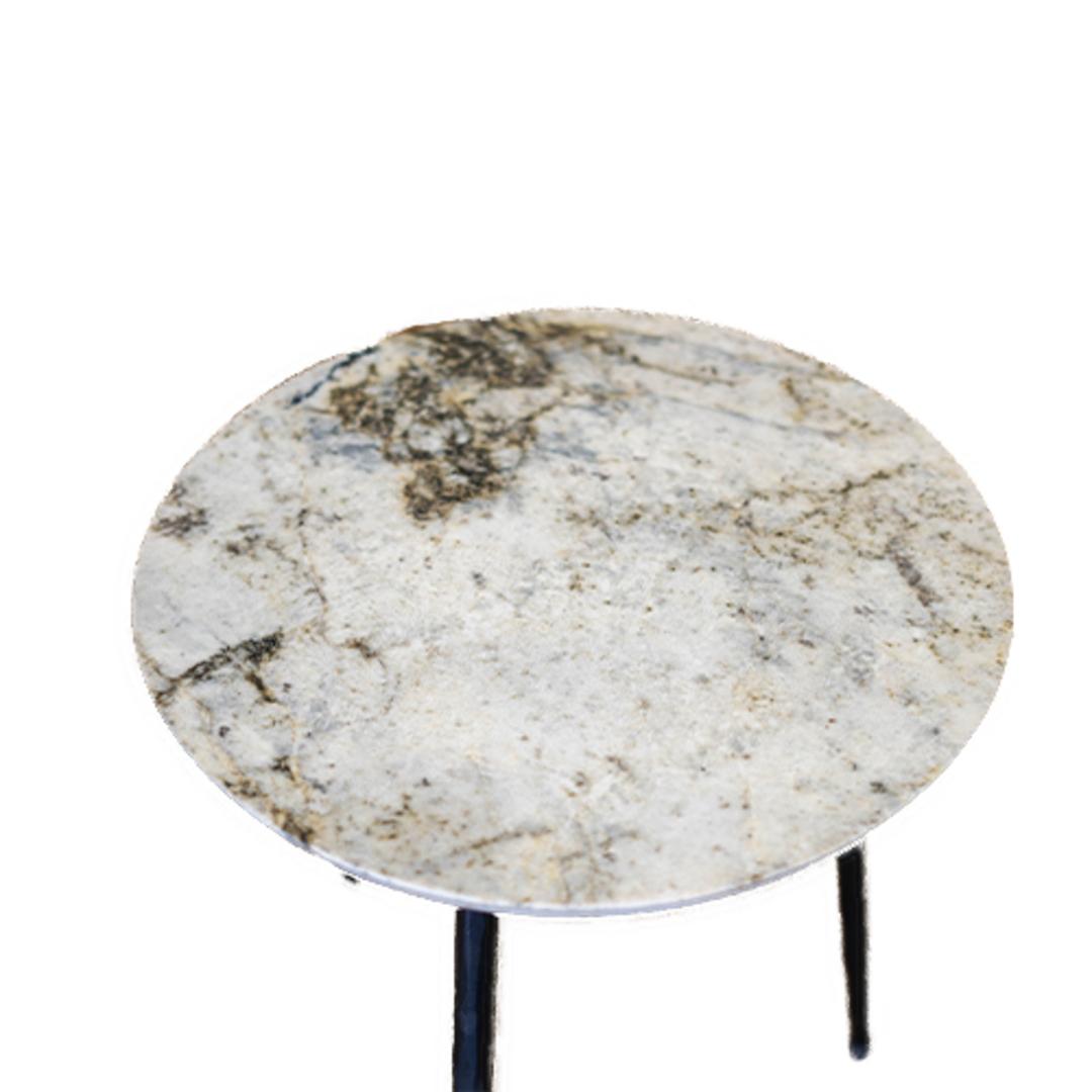 Alpine Marble Table Tall image 1