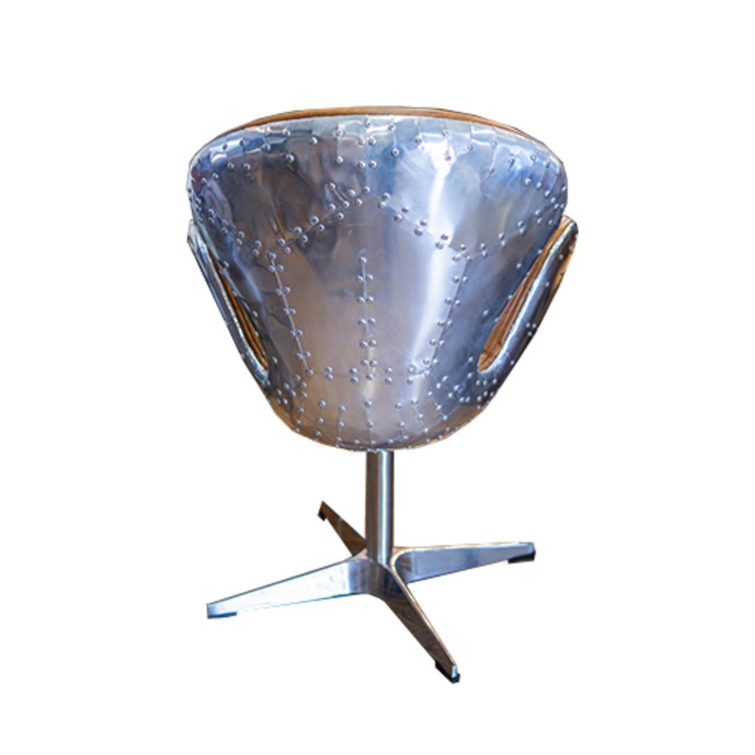 Aviator Swivel Chair Vintage Tan image 3