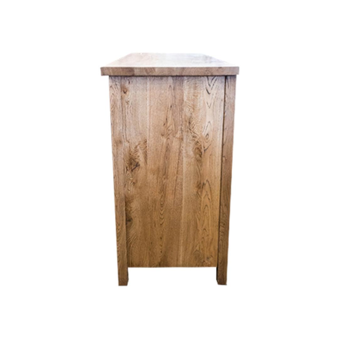 American Light Oak 3 Door Sideboard image 2