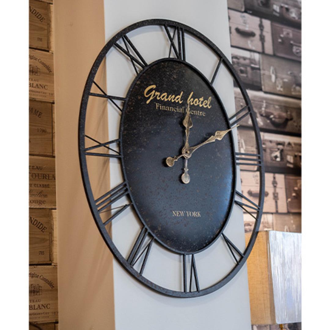 Oval Grand Hotel Clock image 1