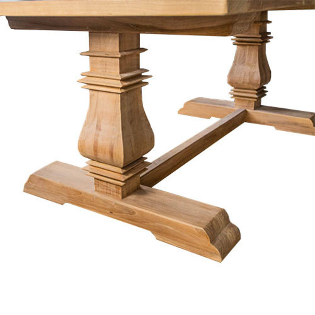 Recycled Elm Victoria Dining Table 2.45M image 2