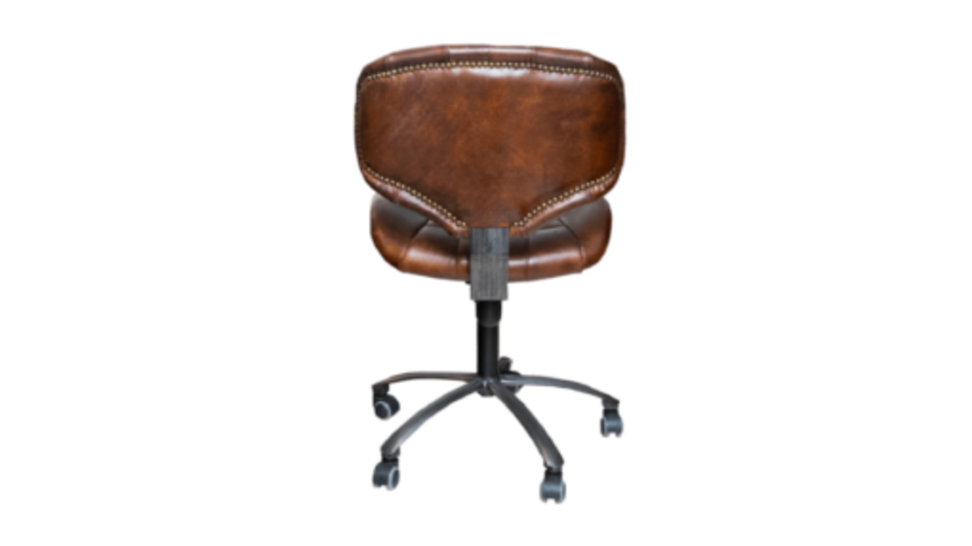 Heritage Study Chair Leather image 2