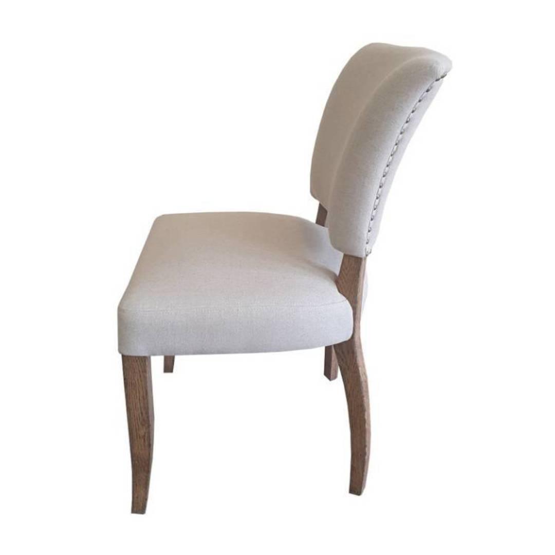 Derringer Linen Dining Chair image 2