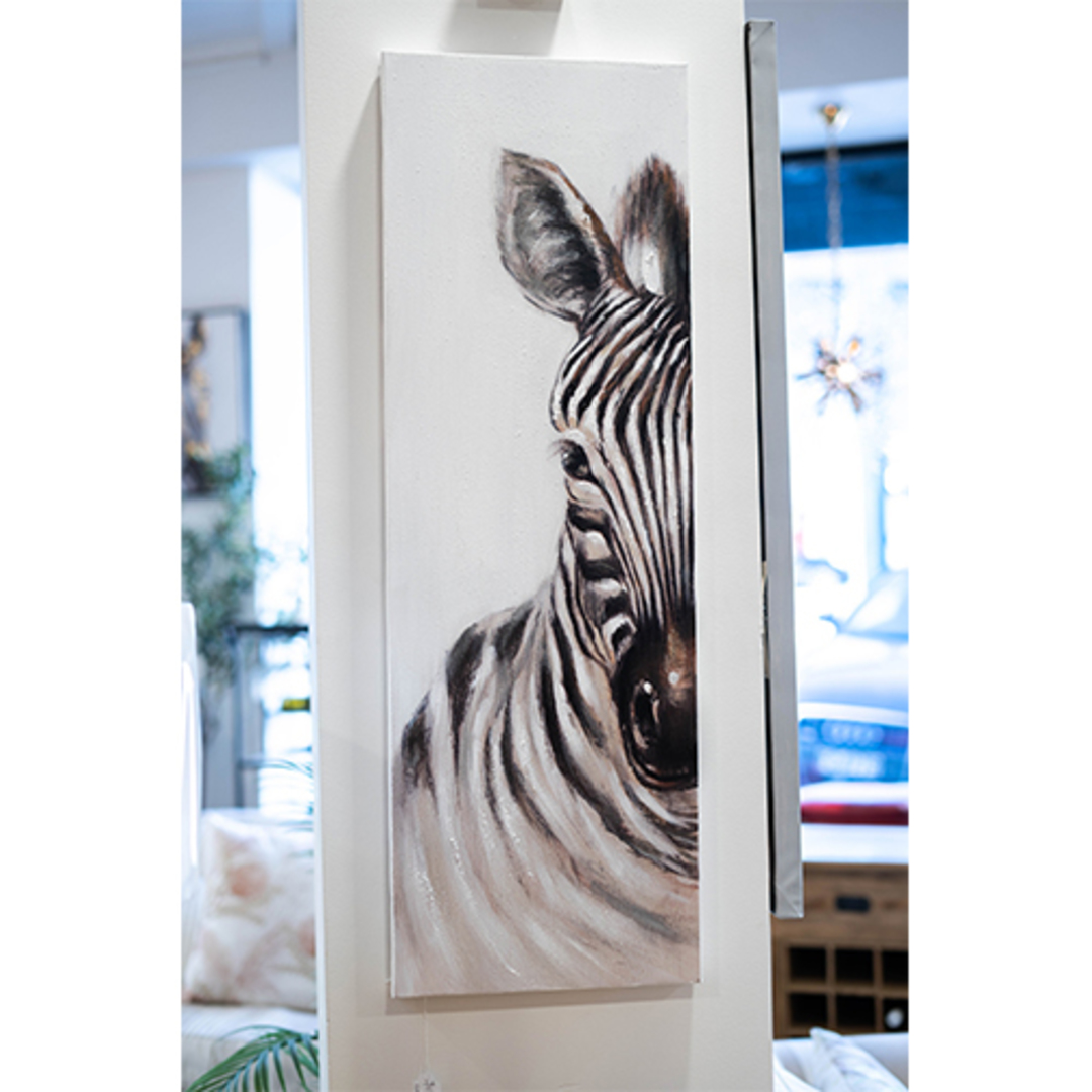 Unique Stripes Canvas image 1