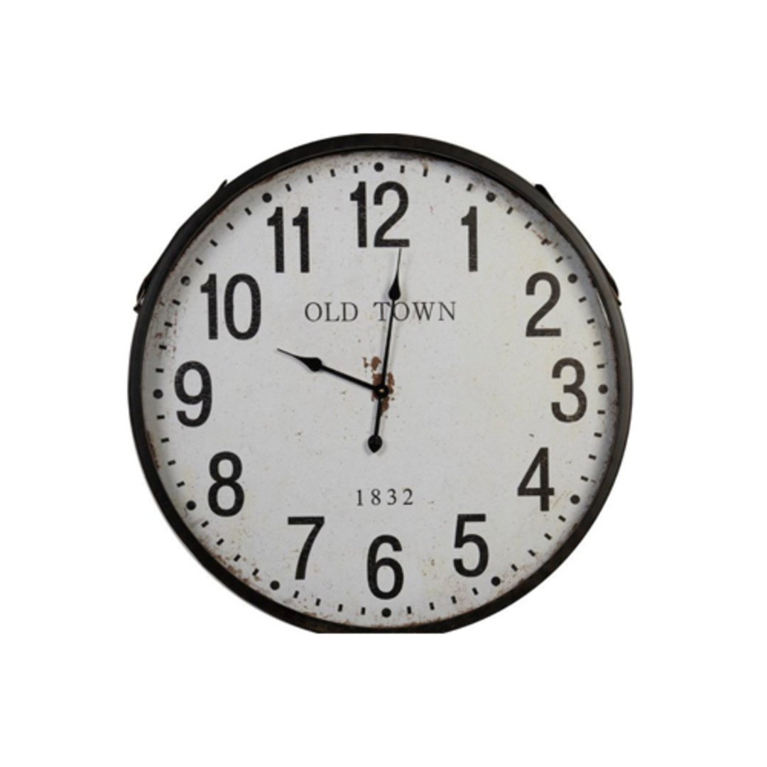 Old Town Iron Wall Clock image 0