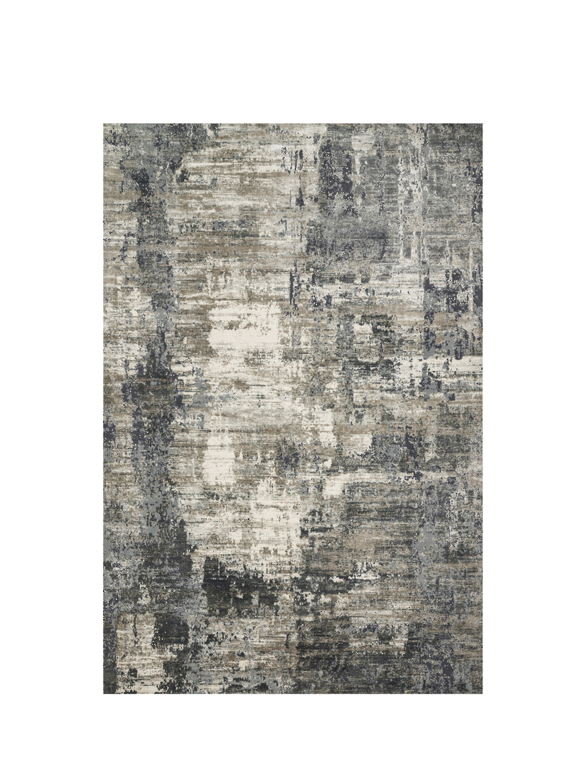 Cascade Rug Ivory/charcoal 1.09m X 1.70m image 0
