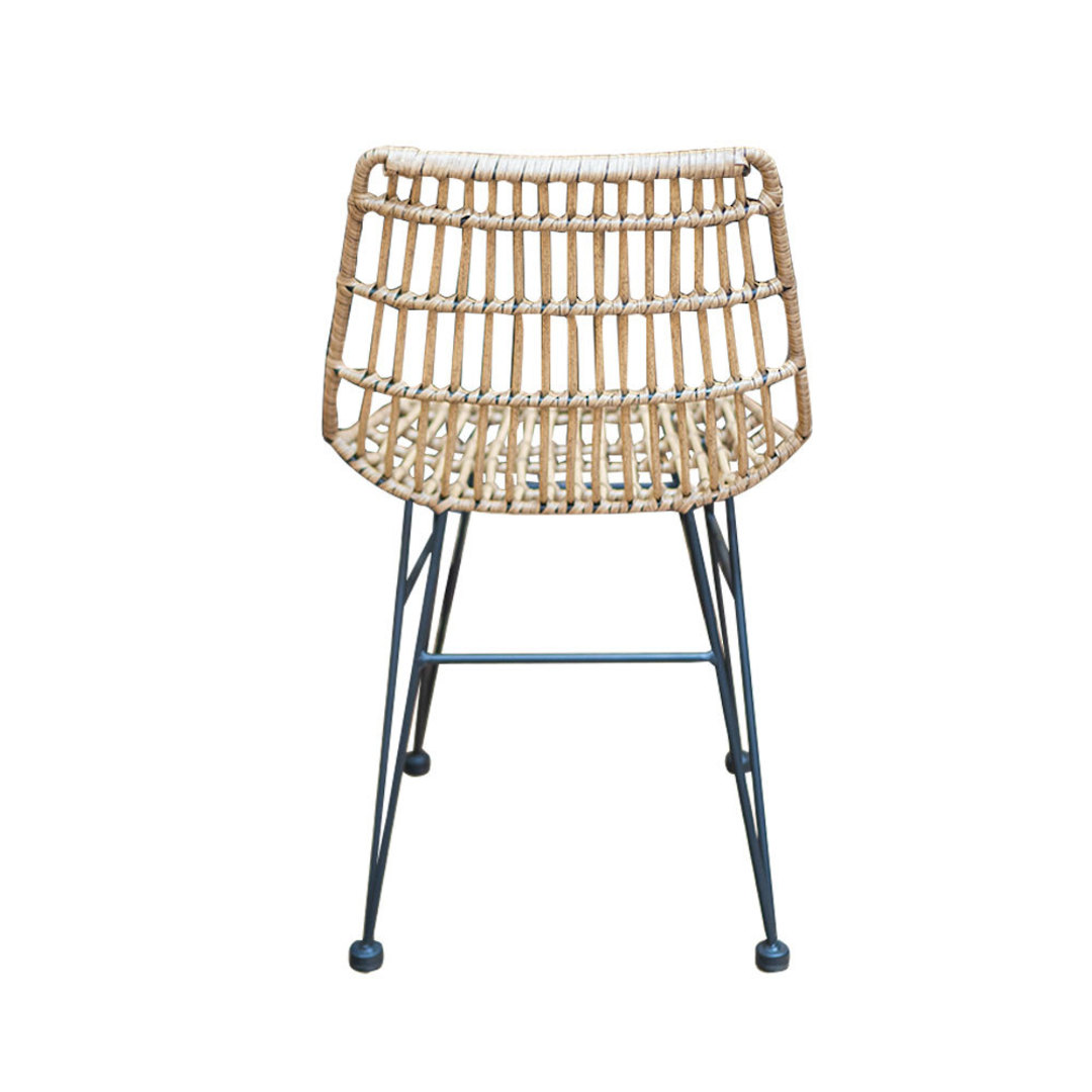 Wicker PE Dining Chair Natural image 2
