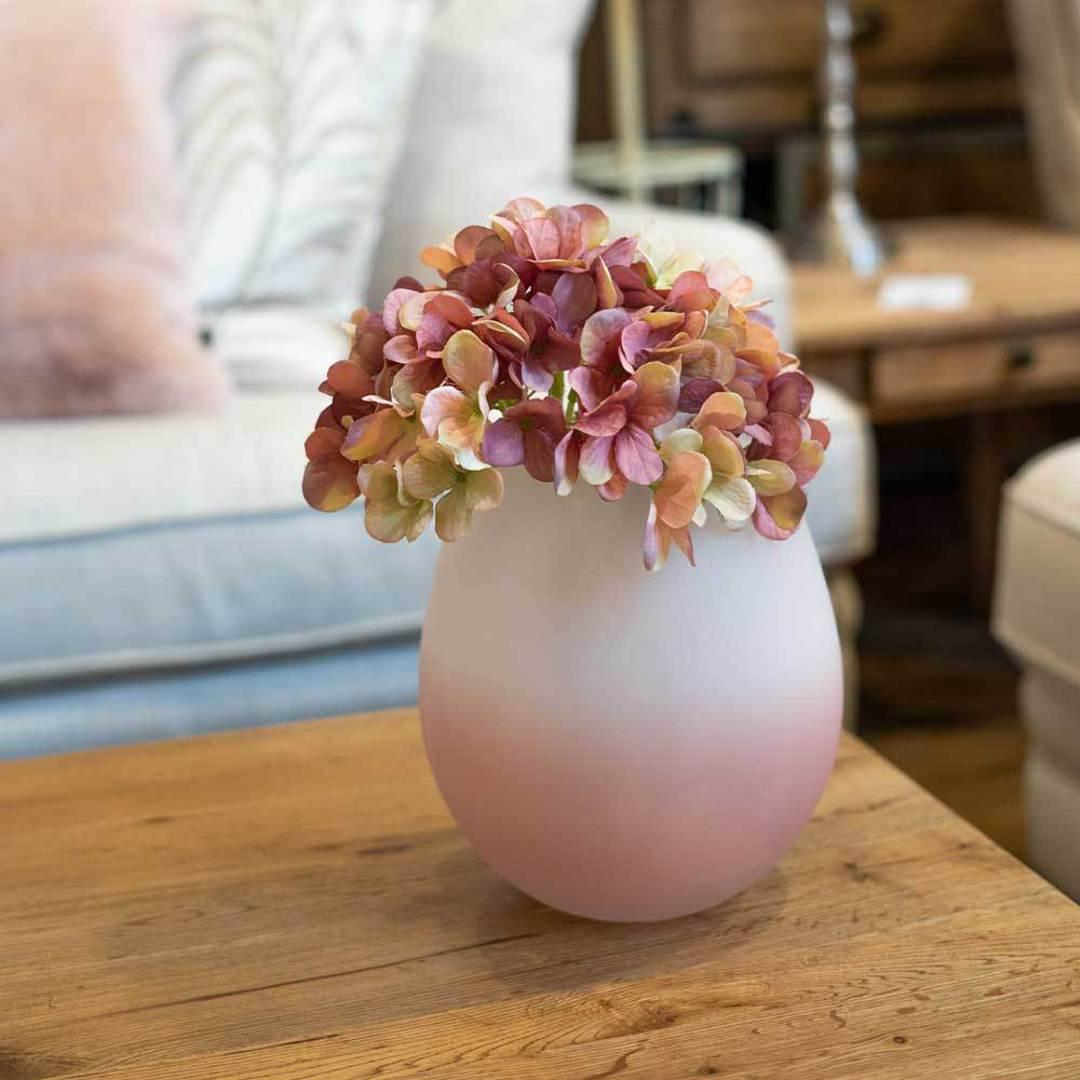 Rose Ombre Vase - Large image 1