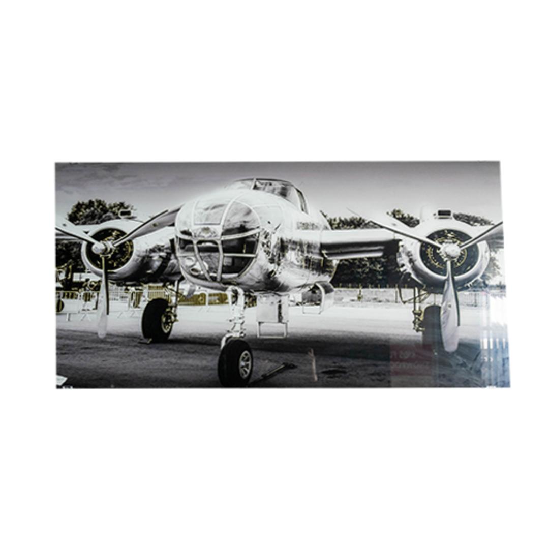 Glass Art - B25 Bomber image 0