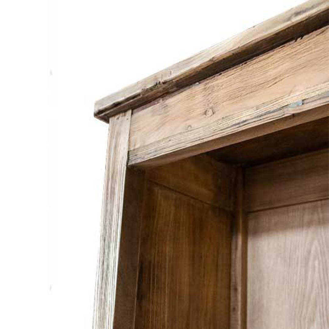 Recycled Elm French Bookcase Small image 4