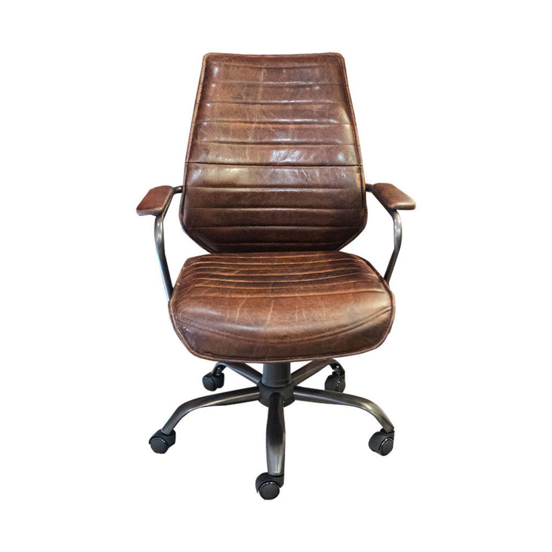 Oxford Office Chair Leather image 1