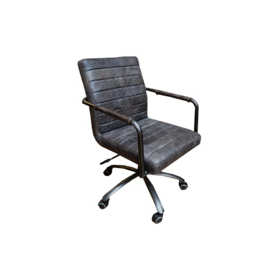 Barcelona Leather Desk Chair image 0
