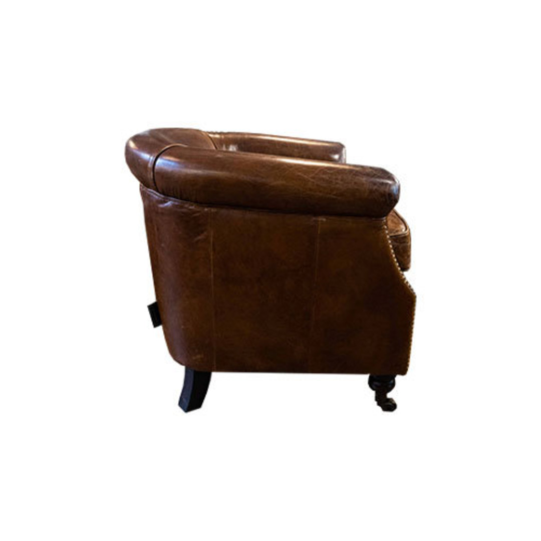 Westminster Aged Italian Tub Chair image 2