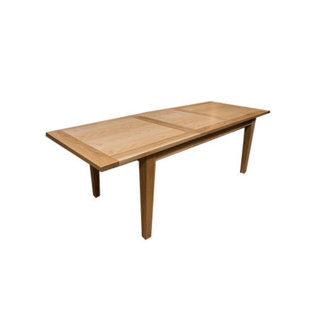 NZ Made Oak Extension Table image 0