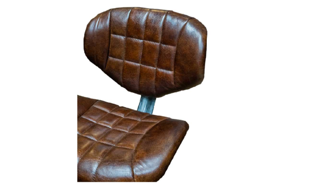Heritage Study Chair Leather image 3