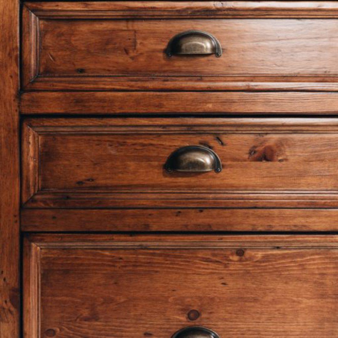 Baltic Office 6 Drawer Desk Large image 7