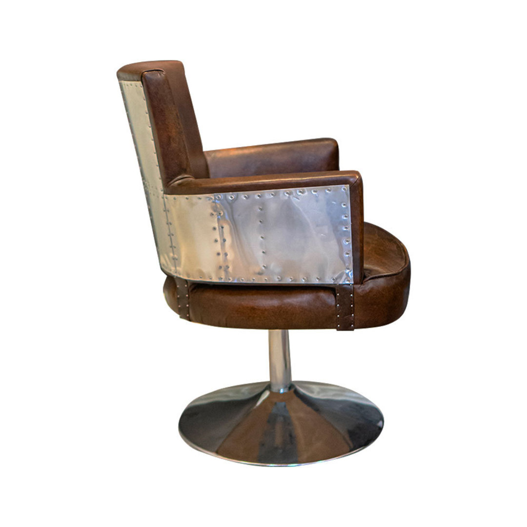 Treviso Study Chair with Stainless Steel image 2